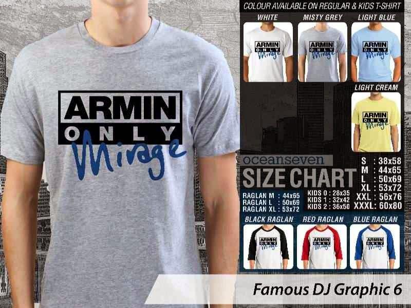 KAOS Musik DJ 6 Armin Only Mirage distro ocean seven