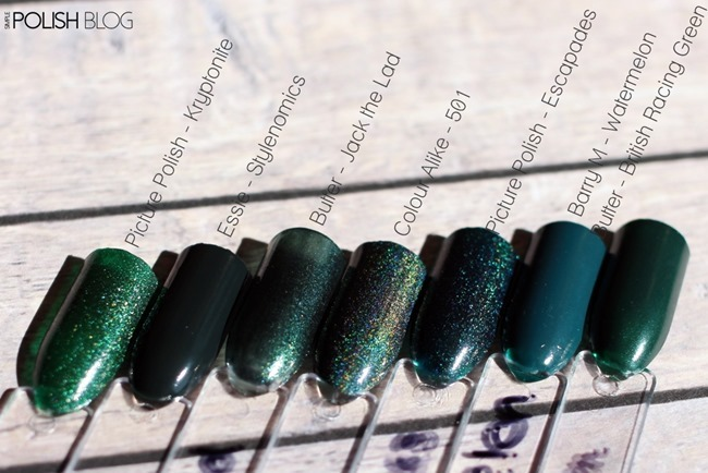 7-Shades-of-Green-Nailpolish-4