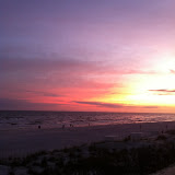 Sunset over the Gulf of Mexico in Destin FL 03232012c