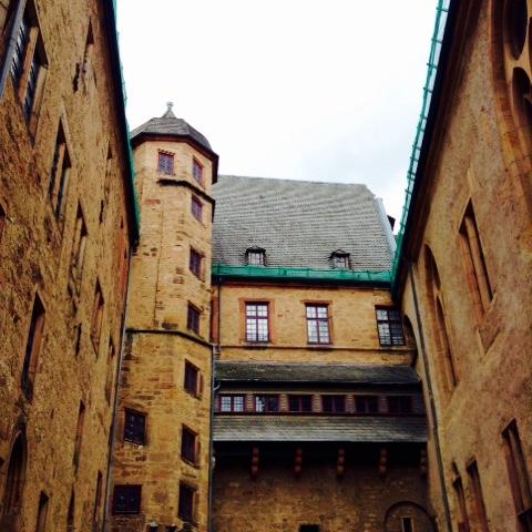 marburg castle hidden in germany. Black Bedroom Furniture Sets. Home Design Ideas