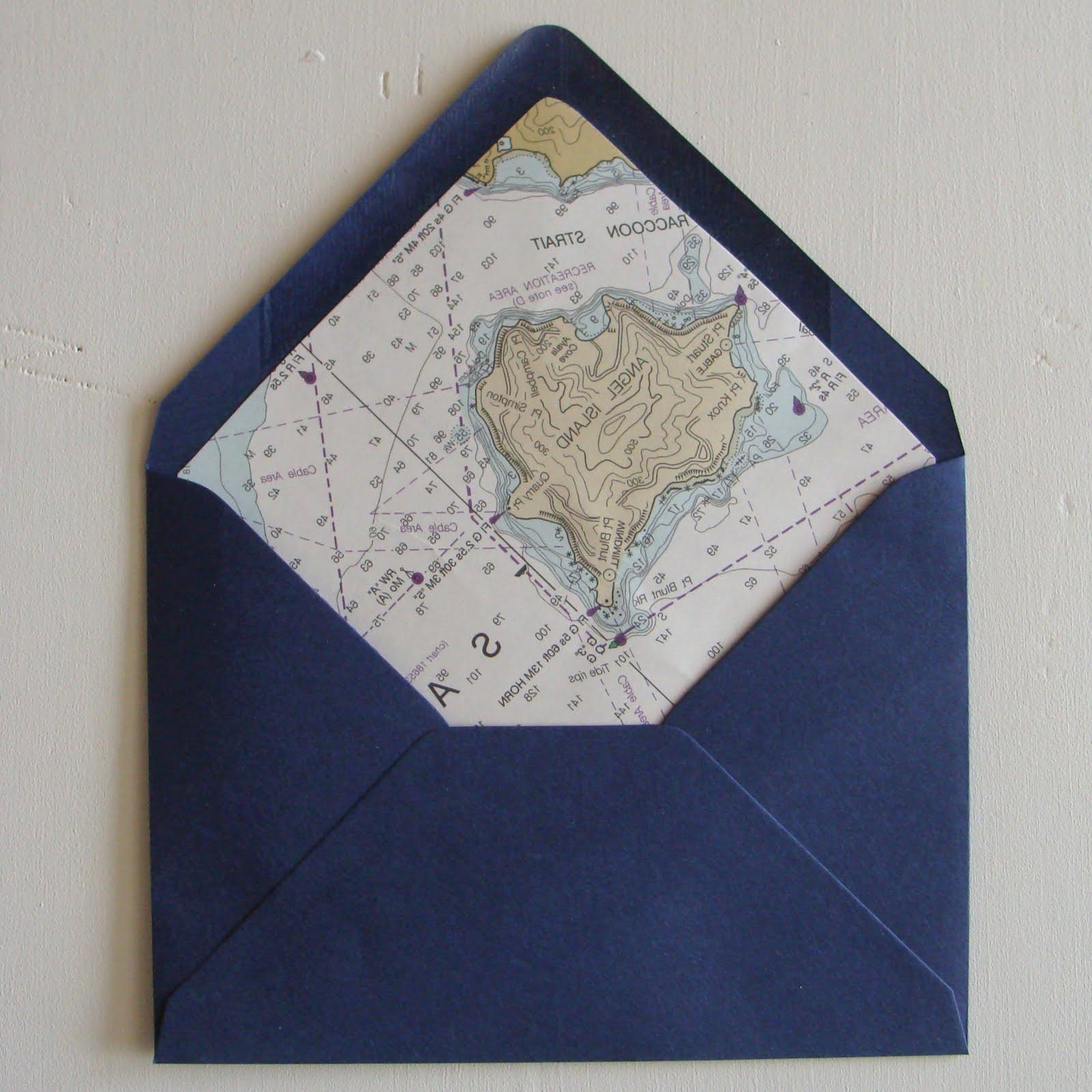 chart envelope liners two