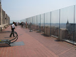 Here's the second level observation deck