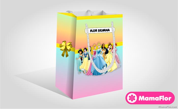 Bolsa de Sorpresas de las Princesas Disney, para imprimir ...