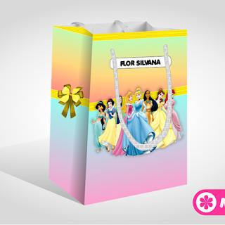 Caja Sorpresa para Fiesta de las Princesas Disney | Gratis para Imprimir