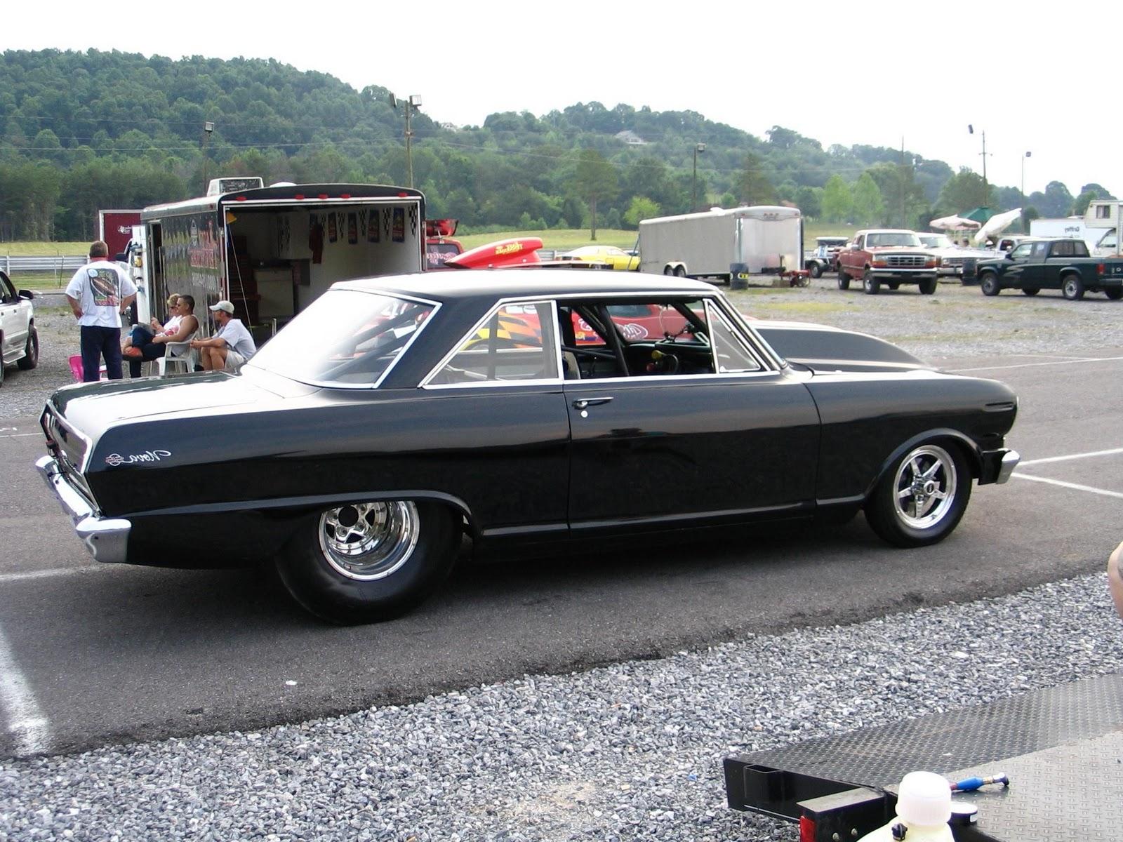 1964 Chevy II pro bracket car,