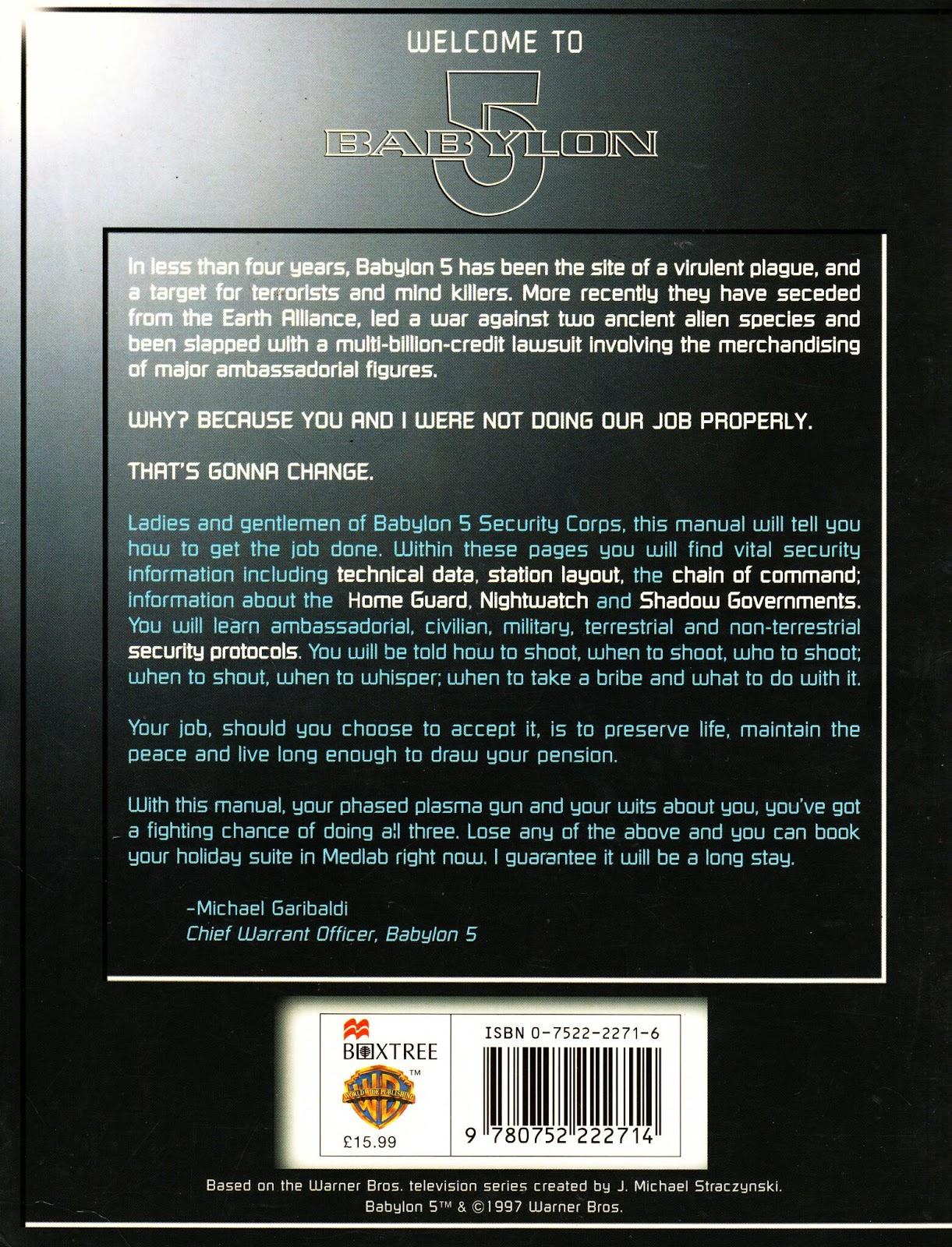 Babylon 5 Security Manual