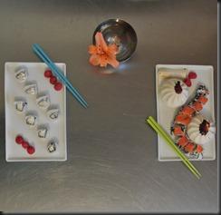 Clean modern Japanese cuisine.