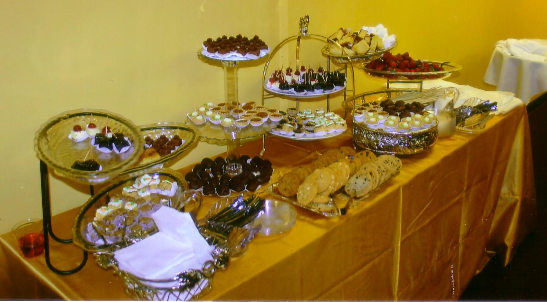 ideas for wedding dessert