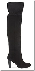 Reiss Vale over the knee suede boot