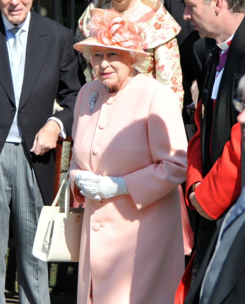 I love the Queen in pink.