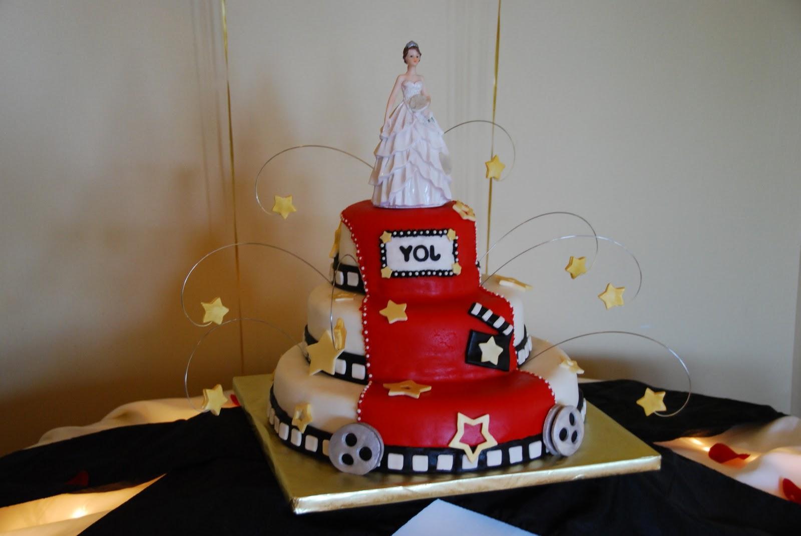 Quincea  era cake