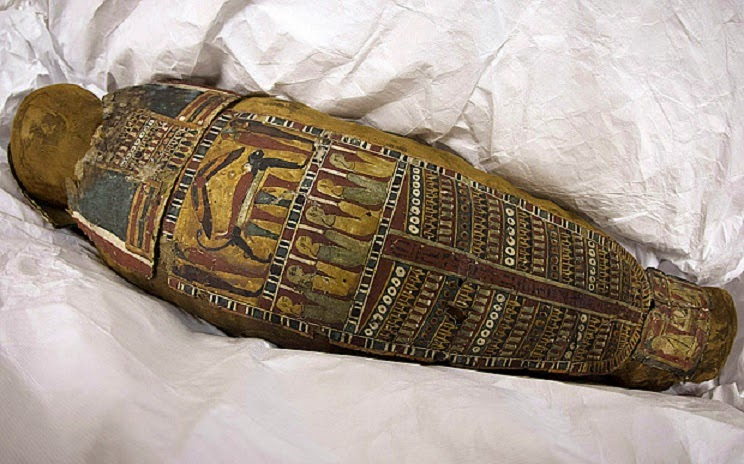 Egyptian mummy found at French dump to go on display