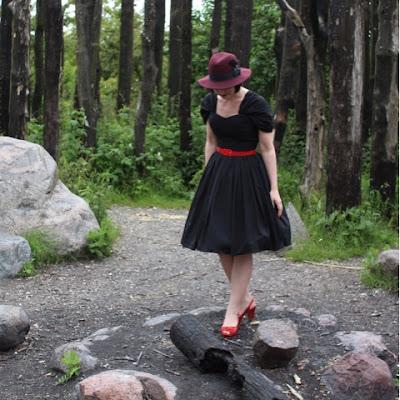 kathrine pachniuk, unique vintage, vintage style, dictiocanary, bait footwear,