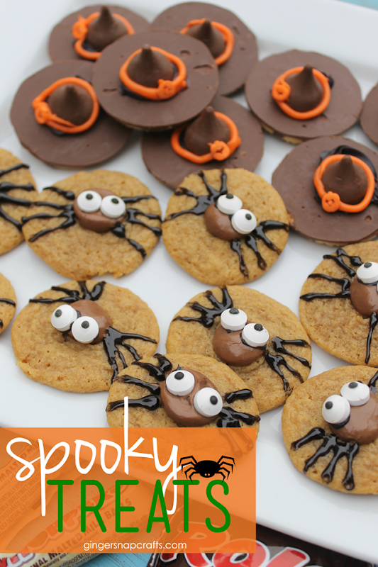 spooky treats at GingerSnapCrafts.com