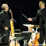 Pacoseco (guitarra flamenca) y Ricardo Casero (director).