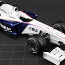 BMW-Sauber F1.09 right front