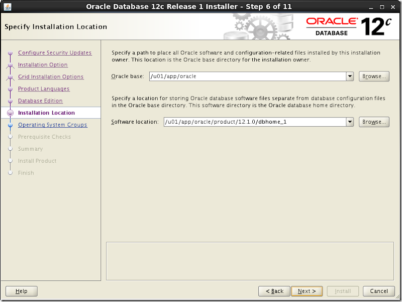 Oracle Database Software Installation 7