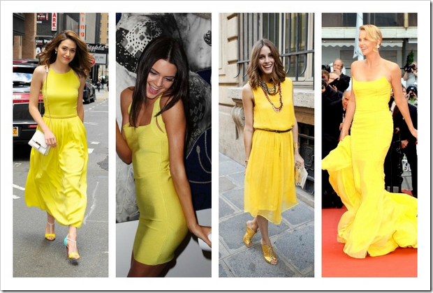 Amarillo tendencia verano 02 kendall jenner