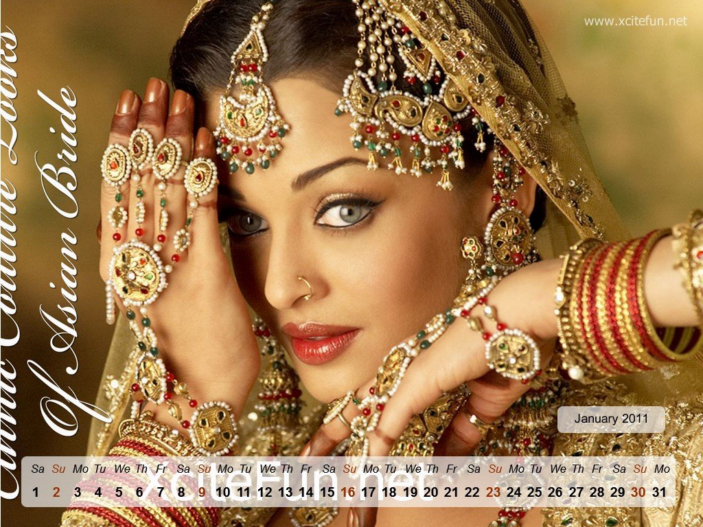 Aishwarya Rai In Bridal Dress