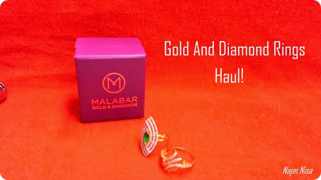 Gold and diamong jewelry rings malabar
