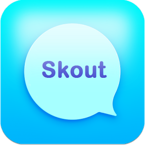 Messenger chat and Skout talk