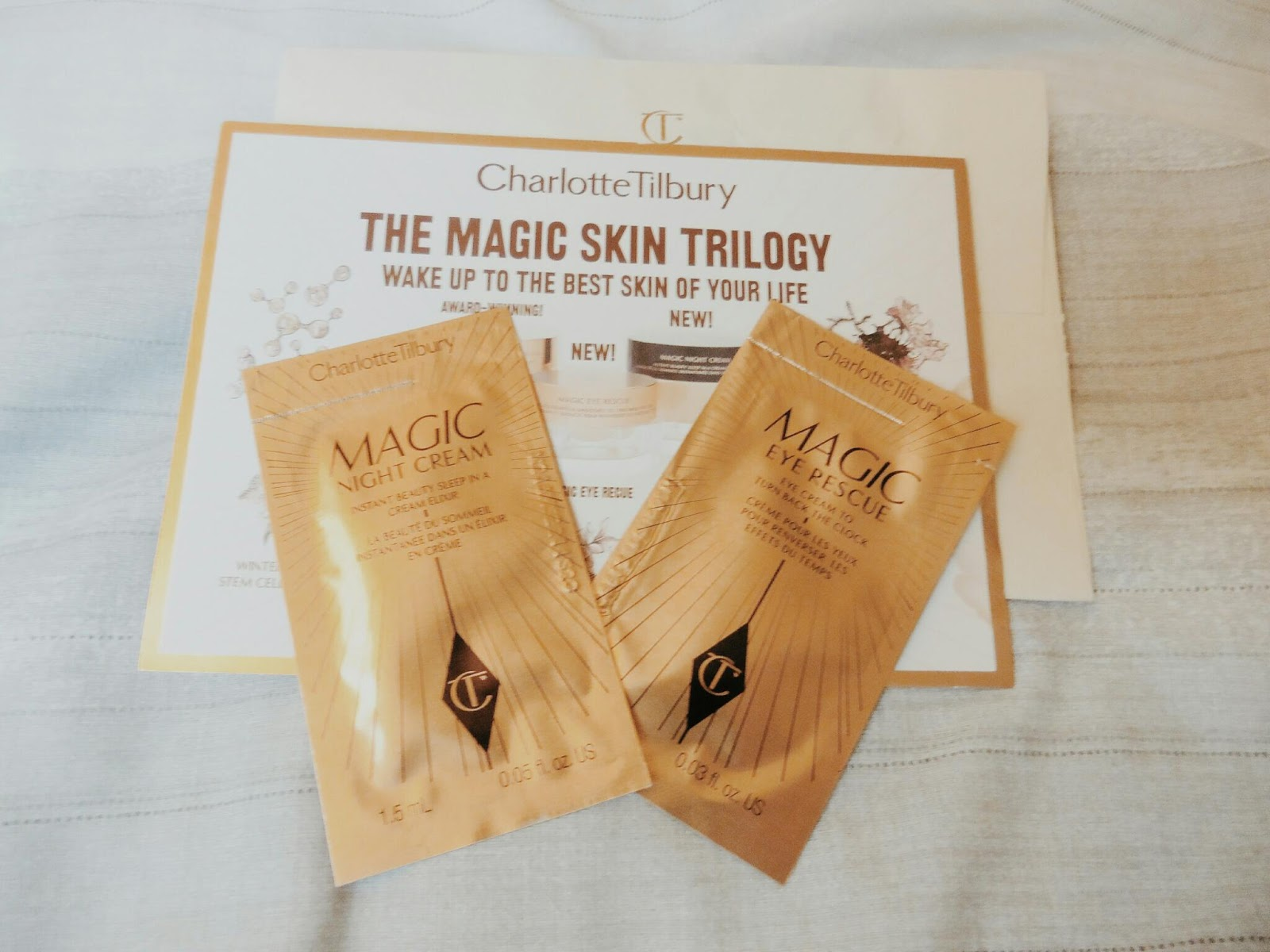 lebellelavie - Testing out the Charlotte Tilbury Magic Night Cream