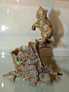 Антикварная скульптура из бронзы. 19-й век.