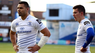 Guinness PRO12, BT Sport Cardiff Arms Park, Wales 10/1/2015<br />Cardiff Blues vs Leinster <br />Leinster's Noel Reid and Ben Te'o<br />Mandatory Credit ©INPHO/Simon King