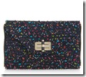 Diane von Furstenberg tweed convertible clutch