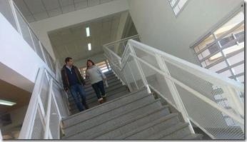 El intendente de La Costa recorrió las instalaciones de la Escuela Primaria Nº15 de San Bernardo