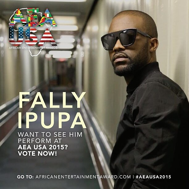Fally Ipupa, Diamond Platnumz, Eddy Kenzo,  Wiz Kid and  Sarkodie nominated for Best Male At AEA