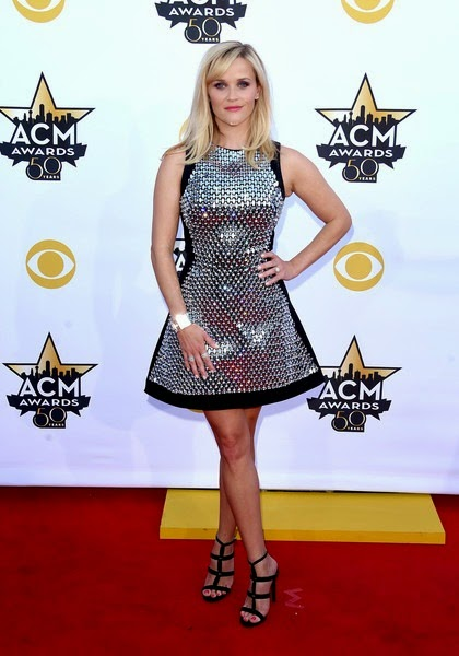Reese Witherspoon attends the 50th Academy Of Country Music Awards