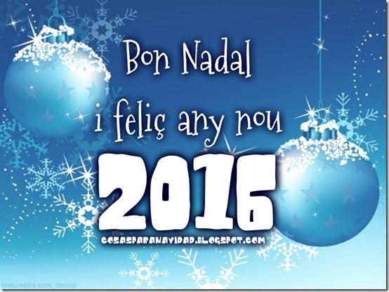 molt bon Nadal i feliç any