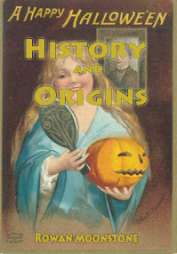 Cover of Rowan Moonstone's Book Pagan History The Origins of Halloween