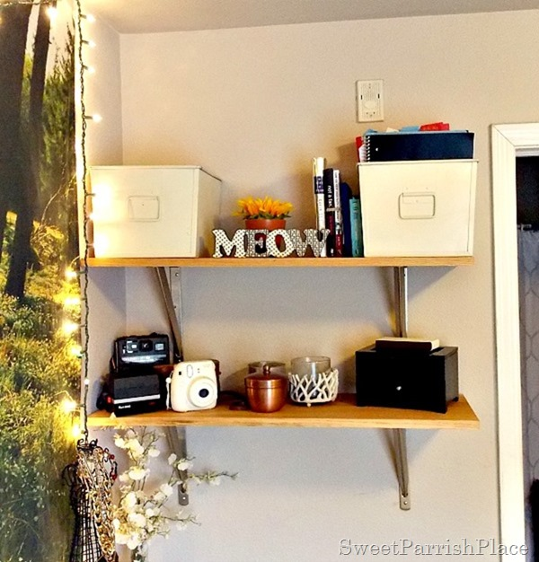 DIY Wall Shelves1