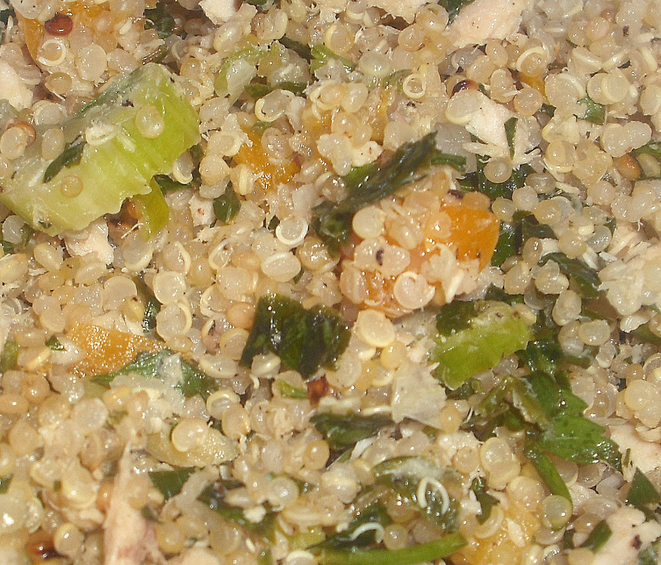 Quinoa and Parsley Salad