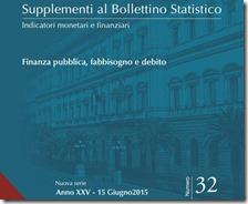 Supplementi al bollettino statistico. Giugno 2015