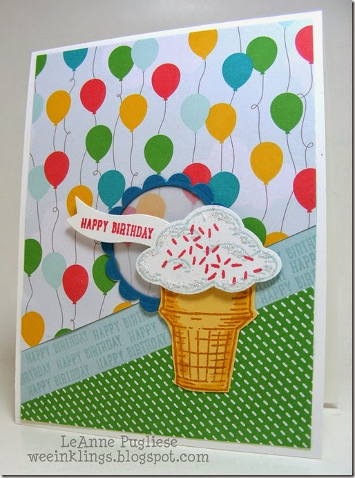 LeAnne Pugliese WeeInklings Sprinkles of Life Stampin Up