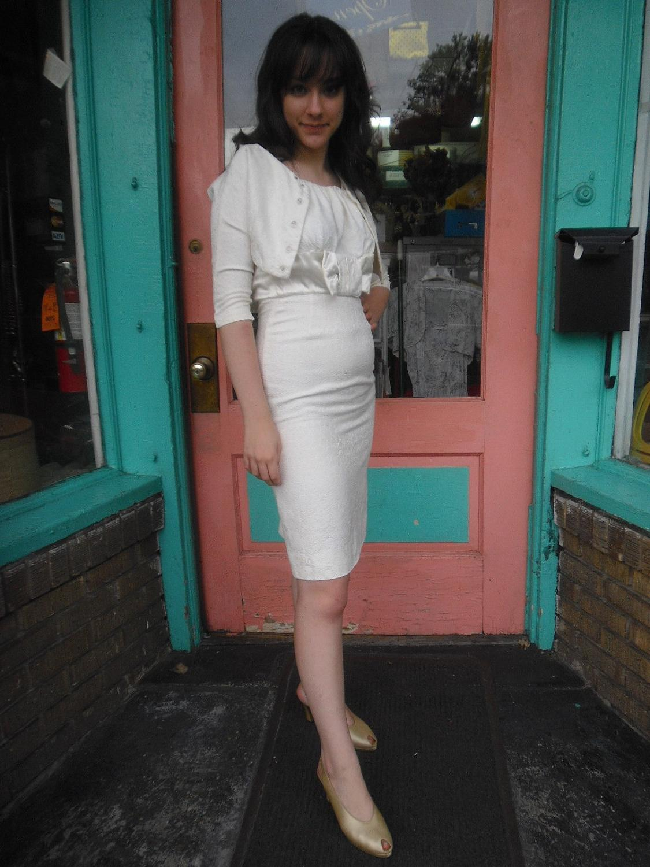 Ola\'s blog: 1950s Wedding Dress Vintage