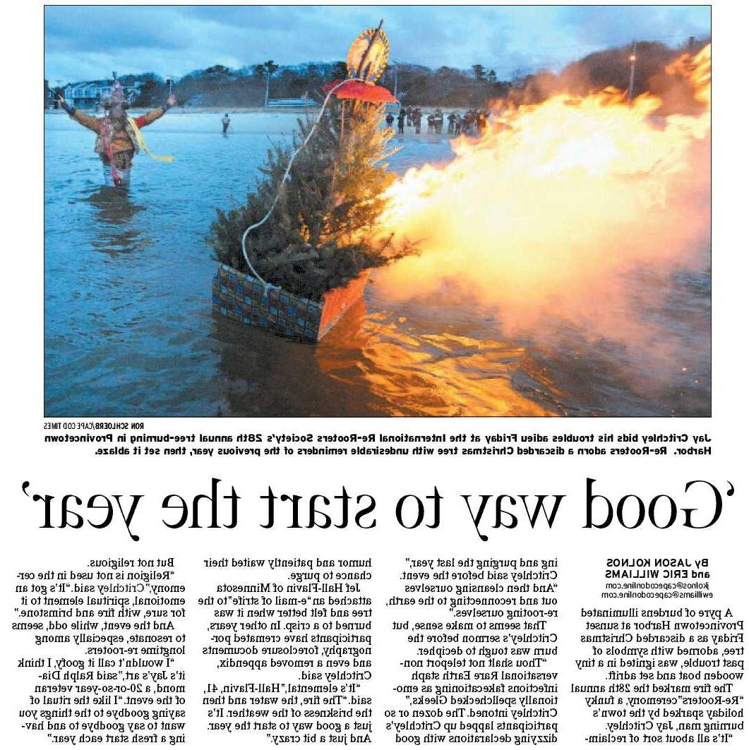 Cape Cod Times, Jan 8, 2011,