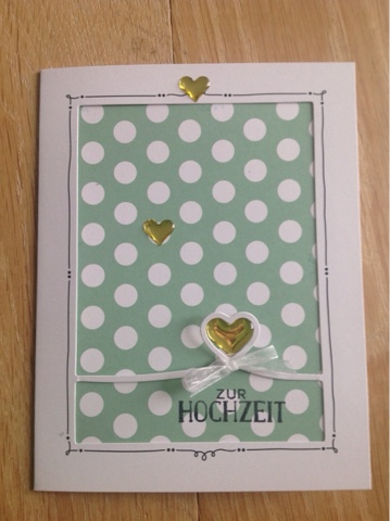 Stampin up Married