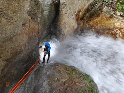 Canyon de la Pissarde, massif du Vercors