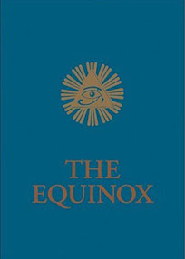 Cover of Aleister Crowley's Book The Equinox Vol III No I Blue Equinox