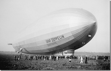 Graf Zeppelin after Weltflug at Lakehurst