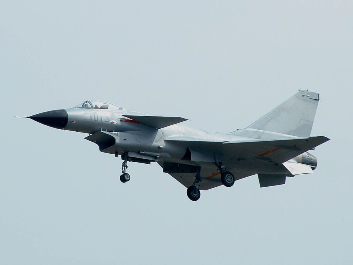 Naval Open Source INTelligence: J-10 fighter planes, 6 ...