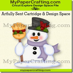 artfully sent snowman piecing ppr-325