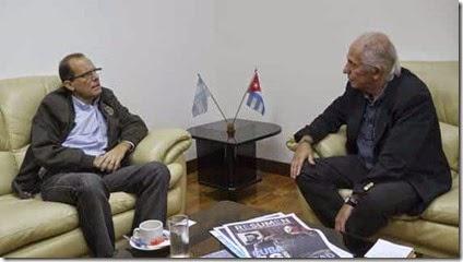 Orestes Perez Perez - Embajador de Cuba en Argentina