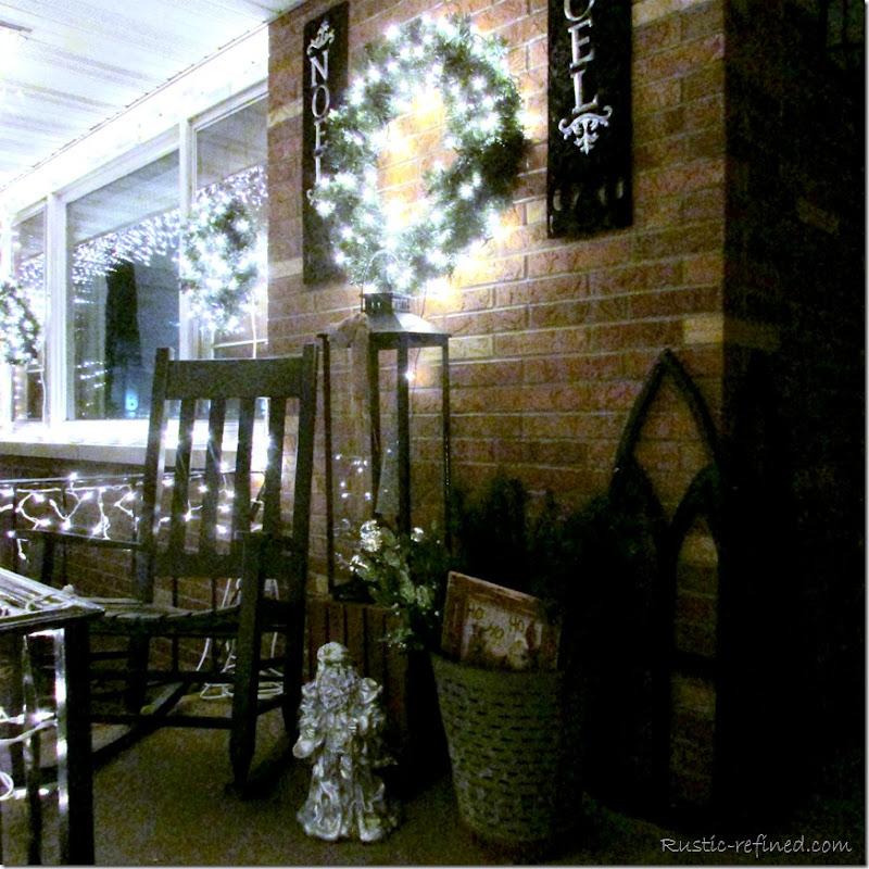Beautiful Holiday Lights outside