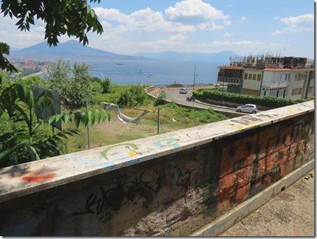 Vista di Napoli da via Ortensio