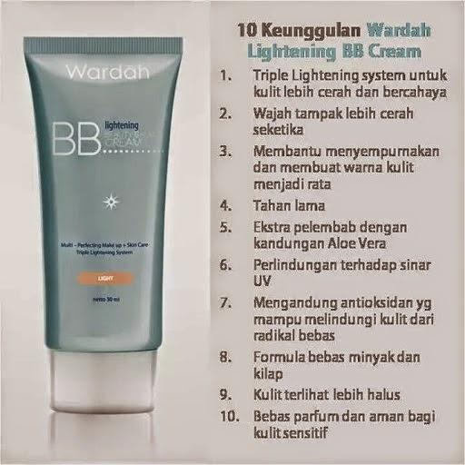 toko kosmetik callysta: WARDAH Lightening BBCream -- 15ml Rp. 31.000 30ml Rp. 59.000